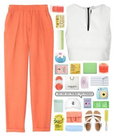 """""""There isn't a day that goes by that I don't think of you."""" by tiaranrnd ❤ liked on Polyvore featuring Sara Happ, Maje, Topshop, October's Very Own, ALDO, Maison Margiela, Accessorize, Lacvert, Tony Moly and Brooks Brothers"""