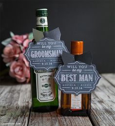 Will You be my Groomsman? Best Man?