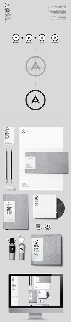 Personal Identity Design on Behance