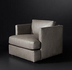 Milo Baughman Model #1107-103, 1971 Leather Chair