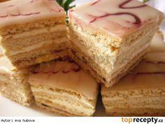 Klášterské řezy Slovak Recipes, Czech Recipes, Ethnic Recipes, Vanilla Cake, Baked Goods, Sweet Tooth, Cheesecake, Deserts, Food And Drink