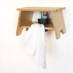 children's room 1st step- birch stool,can  be used as shelf -lamaisondemarina.com