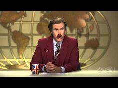 ▶ Doctor Who Confuses and Confounds Ron Burgundy - YouTube