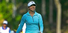 Alison Lee leads by two after 2 rounds at the LPGA Tour's Kingsmill Championship, May 15, 2015