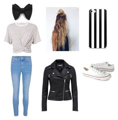 """""""Untitled #1"""" by rebekahdrhodes03 ❤ liked on Polyvore featuring beauty, T By Alexander Wang and Converse"""