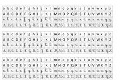 Photos alphabet francais majuscule