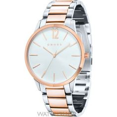 CR8003-33 Mens Crosses, Gents Watches, Michael Kors Watch, Gold Watch, Accessories, Products, Men's Watches, Mens Watches Uk, Gadget
