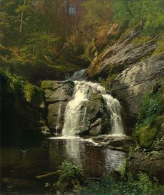 Buck Hills Falls Paintings | Herman Herzog paintings