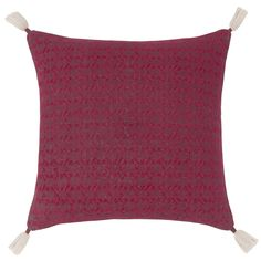 Red Cotton Cushion Cover | Maisons du Monde