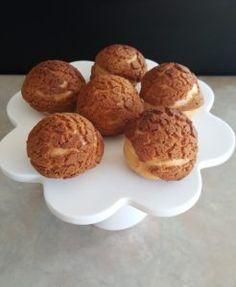 Cream puffs! Alchemy, Muffin, Cream, Baking, Breakfast, Food, Creme Caramel, Morning Coffee, Bakken
