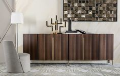 Just in time for Maison Objet Paris, what about to spot the best credenza designed by Italian furniture brands? Design Furniture, Luxury Furniture, Home Furniture, Sideboard Furniture, Modern Sideboard, Sideboard Ideas, Side Board, Italian Furniture Brands, Contemporary Interior Design