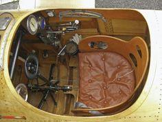 Albatros Dlll Replica Cockpit