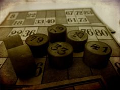 Antique Bingo Game by ValerianaSolaris on @deviantART