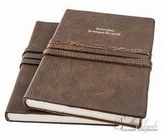 Manufactus 'Secret Plans...' leren notitieboek A5 Leather Journal, Card Case, Journals, Card Holder, Wallet, Magazines, Pocket Wallet, Rolodex, Diy Wallet