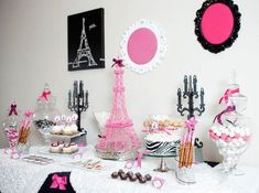 Parisian theme party