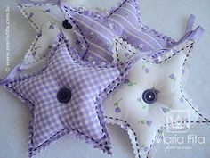 Star, button sachets