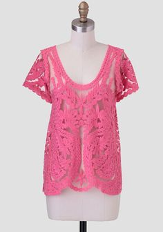 Love Spark Lace Top at #Ruche @Ruche