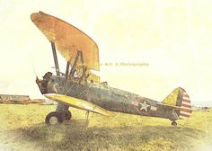 Free To Go Antique Plane Fine Art Print 3.5 x 5 by LemongrassArt, $4.00