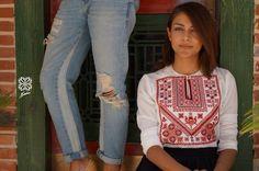 Saru fashion ramallah shirt #ramallah #Palestine #palestinian embroidery #art