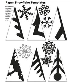 DIY Papier Diy paper snowflakes pattern snowflake 59 ideas Using A Room Humidifier For Health Aspect Paper Snowflake Template, Paper Snowflake Patterns, Snowflake Craft, Paper Snowflakes, Christmas Snowflakes, Snowflake Cutouts, Origami Christmas, Snowflake Cut Out Pattern, Cut Out Snowflakes
