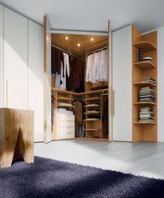 Trendy bedroom storage ideas for small spaces wardrobes dressing rooms Wardrobe Design Bedroom, Modern Bedroom Design, Closet Bedroom, Bedroom Storage, Bedroom Designs, Modern Decor, Bedroom Wardrobes Built In, Bedroom Shelving, Bedroom Ideas