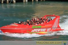 Jet Boat em Auckland: Adrenalina nas águas da Waitemata Harbour  #Auckland #JetBoat #NewZeland #Adrenalin