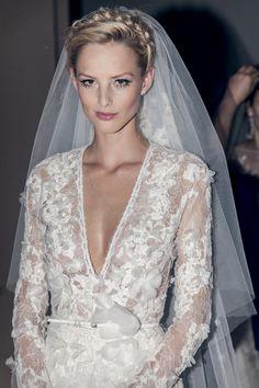 provinas 2014 wedding gowns. **hair, makeup - especially eyes