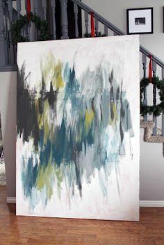 A Painting Process.   Chris Loves Julia