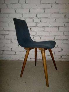 Krzesła krzesło PRL gięte profilowane renowacja drewniane 3 szt Łódź - image 1