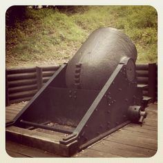 The Dictator cannon at Petersburg National Battlefield, Virginia