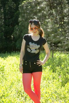 Vintage Pink Panther T Shirt.... Cropped Shirt... by AstralBoutique on Etsy, $38.00