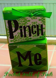 Pinch Me- St. Patrick's Day Blocks