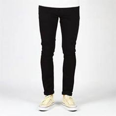 Nudie Jeans 11oz Tight Long John Jeans Twill Rinsed Sale £63