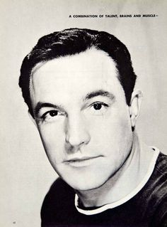 1954 Print Gene Kelly Dancer Singer Actor Movie Musicals Motion Picture Portrait