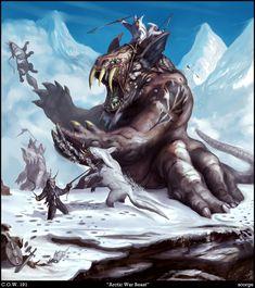 Arctic War Beast by Davesrightmind.deviantart.com on @deviantART