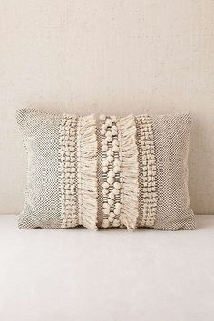 Decorative Pillows 392868767478785425 - Britta Center Shag Bolster Pillow – Urban Outfitters Source by victoriacrepusc Boho Pillows, Diy Pillows, Decorative Pillows, Pillow Ideas, Diy Couch, Vintage Pillows, Couch Pillows, Accent Pillows, Bolster Pillow
