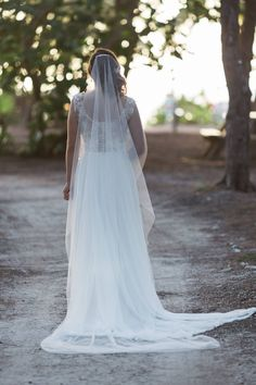 Real bride in Ines Di Santo wedding dress from Solutions Bridal in Orlando, Florida