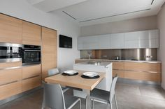 Spacious apartment designed in a clean and simple way for a young family - CAANdesign | Architecture and home design blog
