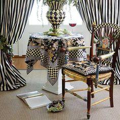 Whimsical Painted Furniture, Funky Furniture, Home Decor Furniture, Furniture Makeover, Mackenzie Childs Furniture, Mackenzie Childs Inspired, Mckenzie And Childs, Family Wall Decor, Cheap Home Decor
