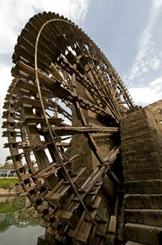 norias or waterwheels #Hama #SyRia