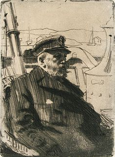 Anders Zorn (Swedish, 1860-1920) - King Oscar II, 1898