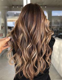 Brown Hair Balayage, Brown Blonde Hair, Light Brown Hair, Hair Color Balayage, Blonde Balayage, Brunette Hair, Caramel Balayage, Honey Balayage, Dark Hair With Highlights