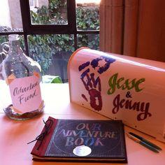 Up-themed wedding props. My wife made them! #diy #pixar #wedding | Flickr - Photo Sharing!