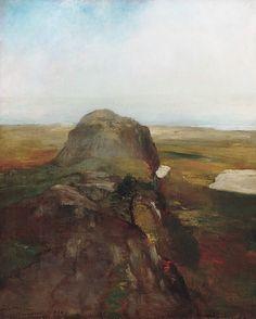 John La Farge (American, New York 1835). Autumn Study, View over Hanging Rock, Newport, R.I., 1868. The Metropolitan Museum of Art, New York. Gift of Dr. Frank Jewett Mather Jr., 1949 (49.76)