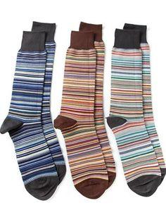 Paul Smith Striped Socks - Profile - Farfetch.com