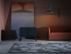 Archipelago carpet by Gunilla Lagerhem Ullberg for Kasthall Residential Interior Design, Commercial Interior Design, Furniture Boutique, Dark Carpet, Hand Tufted Rugs, Nordic Design, Scandinavian Design, Carpet Colors, Archipelago