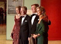 Queen Mathilde, Queen Maxima, Princess Beatrix, Princess Margriet, Princess Laurentien