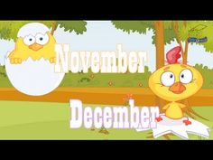The best Months of the Year Song - not too fast, good tune