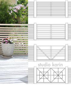 Boundary Walls, Green Garden, Plank, Garden Inspiration, My Dream Home, Garden Design, Garage Doors, Pergola, Backyard