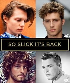 Follow Along As We Take A Look Back At Menu0027s Hairstyles Through The Decades,  And